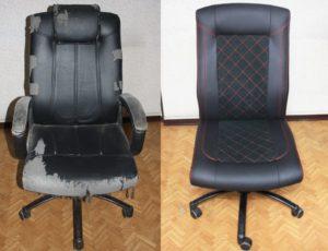перетяжка компьютерного кресла в Ростове-на-Дону